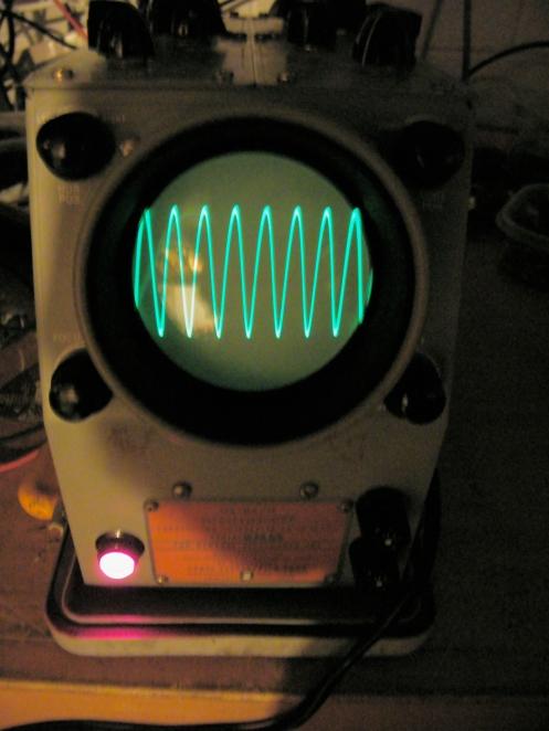 Old Oscilloscope Screen : An usm oscilloscopes richard sears vintage electronics