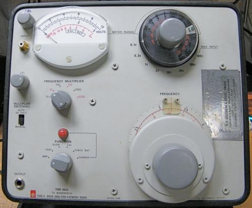 GR 1568-A Wave Analyser